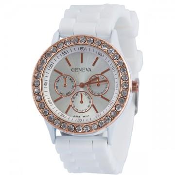 Dámské hodinky. Nejprodávanější Nejnovější Nejlevnější · Geneva s kamínky  bílé 23cbb588b83